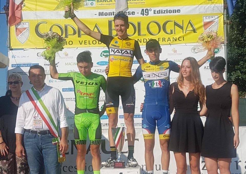Filippo Fiorelli vince la Coppa Bologna di Montallese