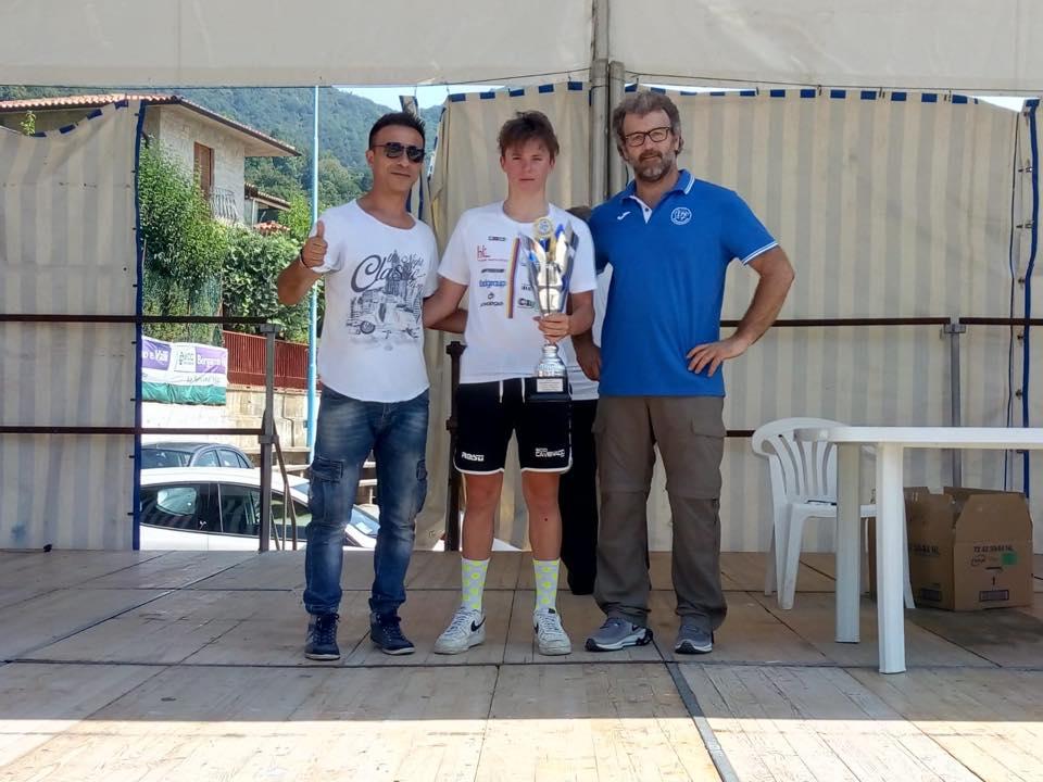 Gabriele Casalini vincitore tra gli Esordienti 2° anno a Sorisole