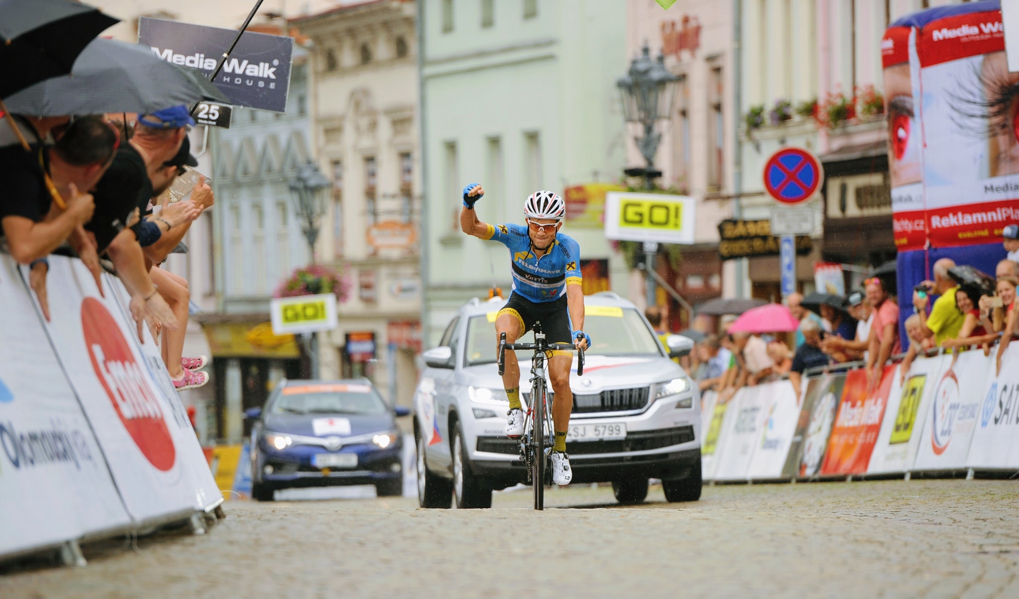 Riccardo Zoidl vince la seconda tappa del Czech Cycling Tour