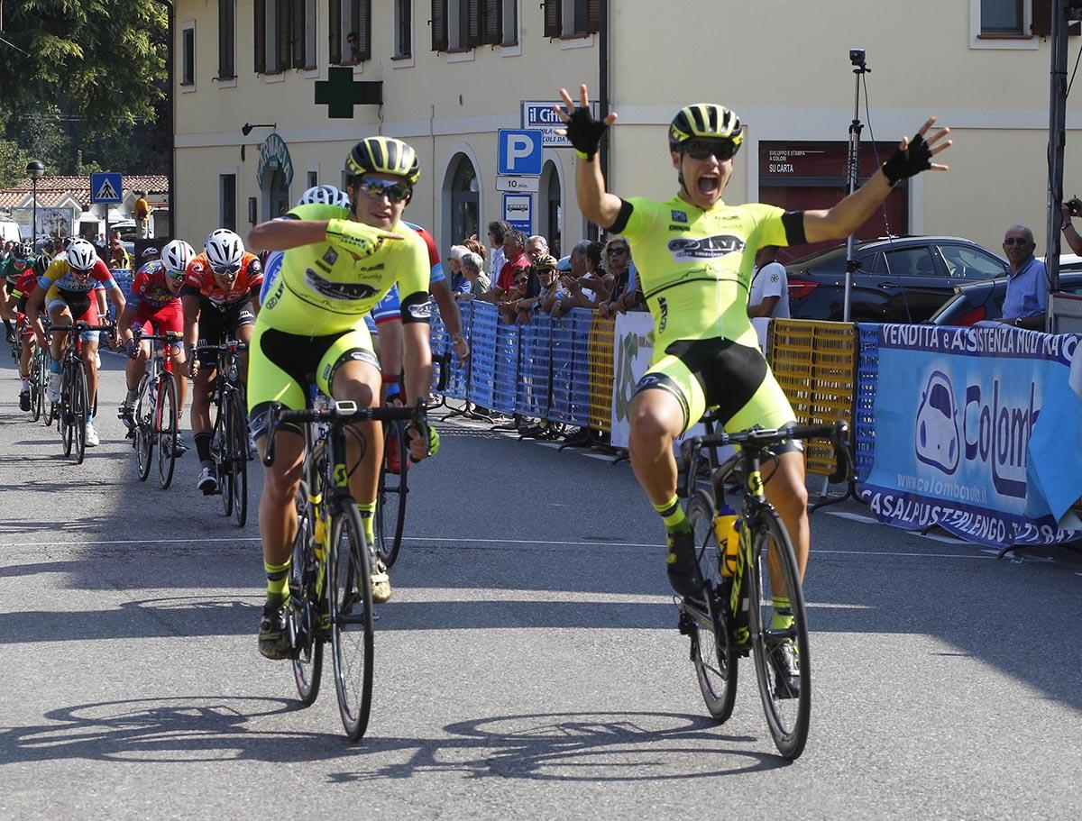 La vittoria di Tomas Trainini a Bertonico