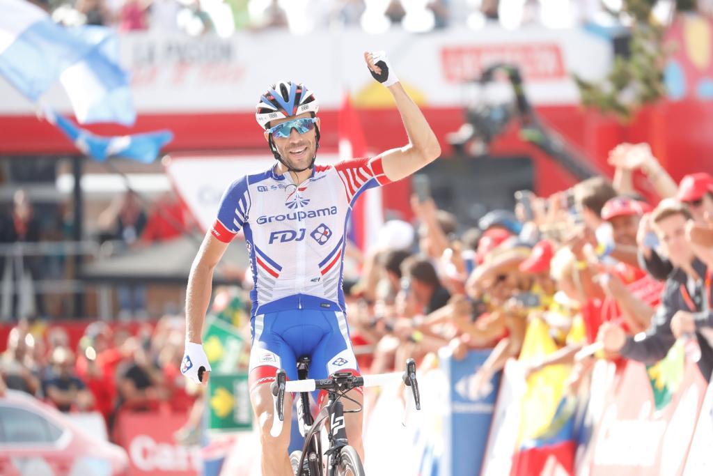 Thibaut Pinot vince la 19esima tappa della Vuelta a Espana 2018
