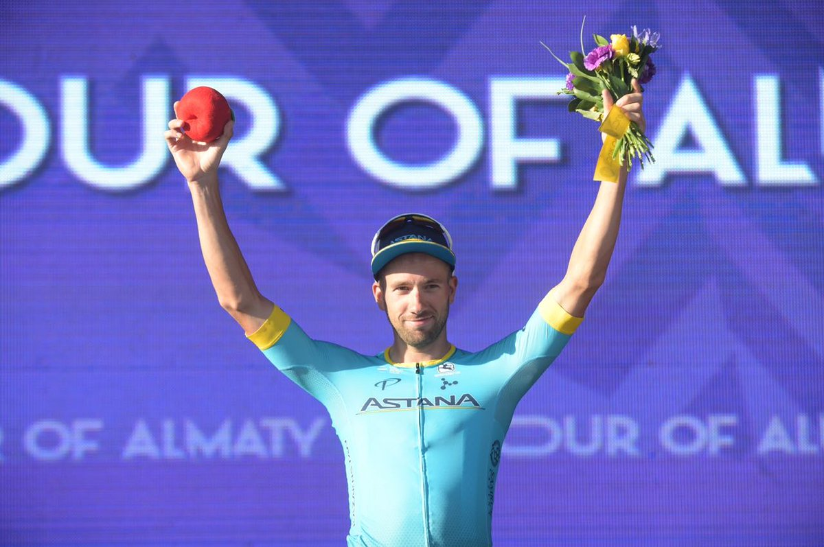 Davide Villella vince il Tour of Almaty 2018