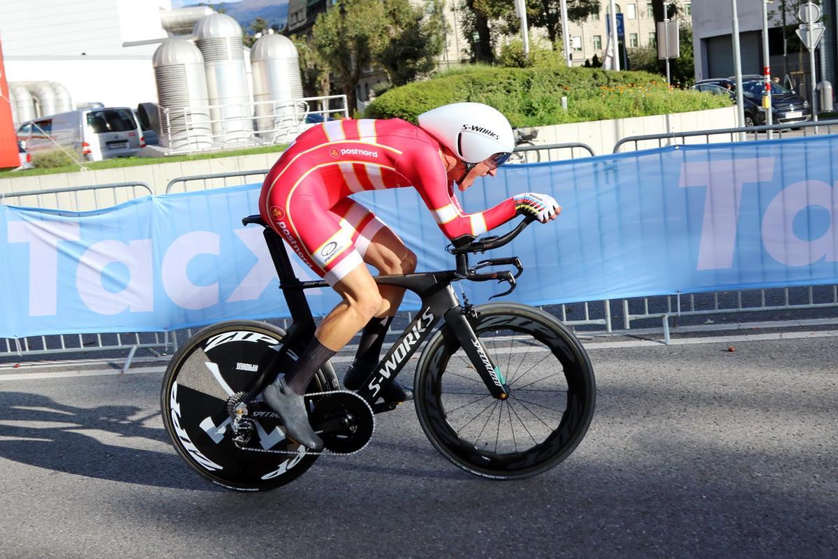 Mikkel Bjergdi nuovo campione del mondo a cronometro tra gli Under 23