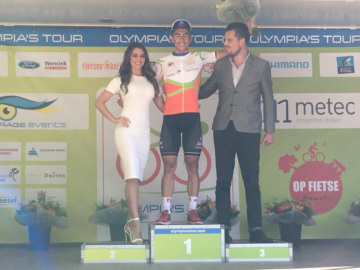 Giacomo Ballabio vincitore della terza tappa dell'Olimpia's Tour