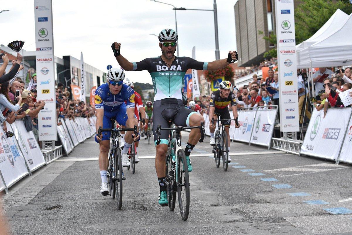 Matteo Pelucchi vince la terza tappa del Tour de Slovaquie