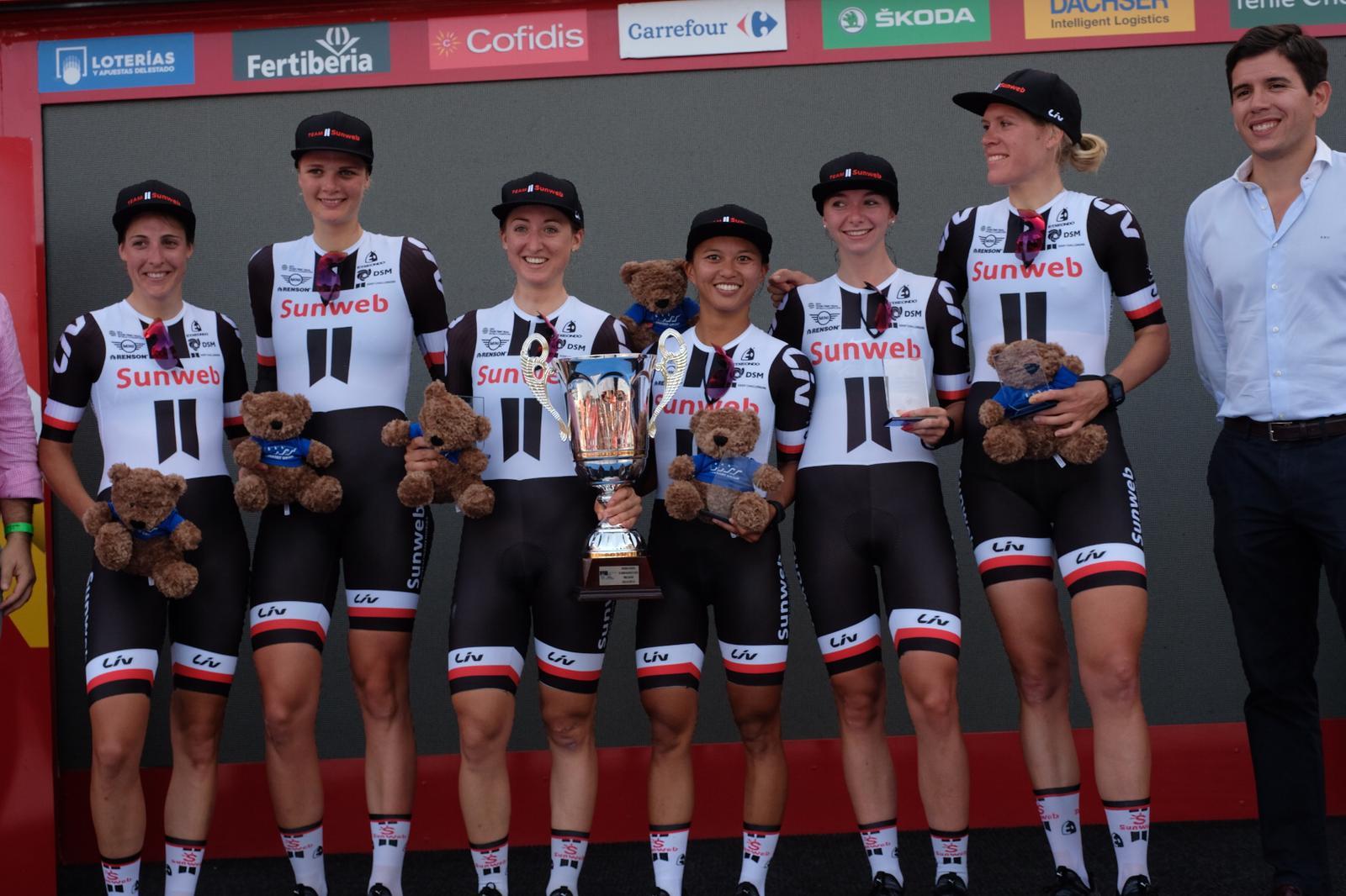 Il Team Sunweb vince la prima prova, la cronosquadre, della Madrid Challenge by La Vuelta