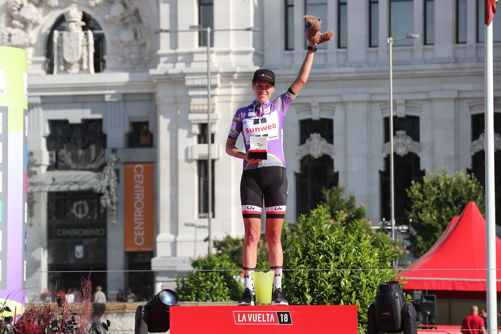 Ellen van Dijk vince la classifica finale della Madrid Challenge by La Vuelta 2018