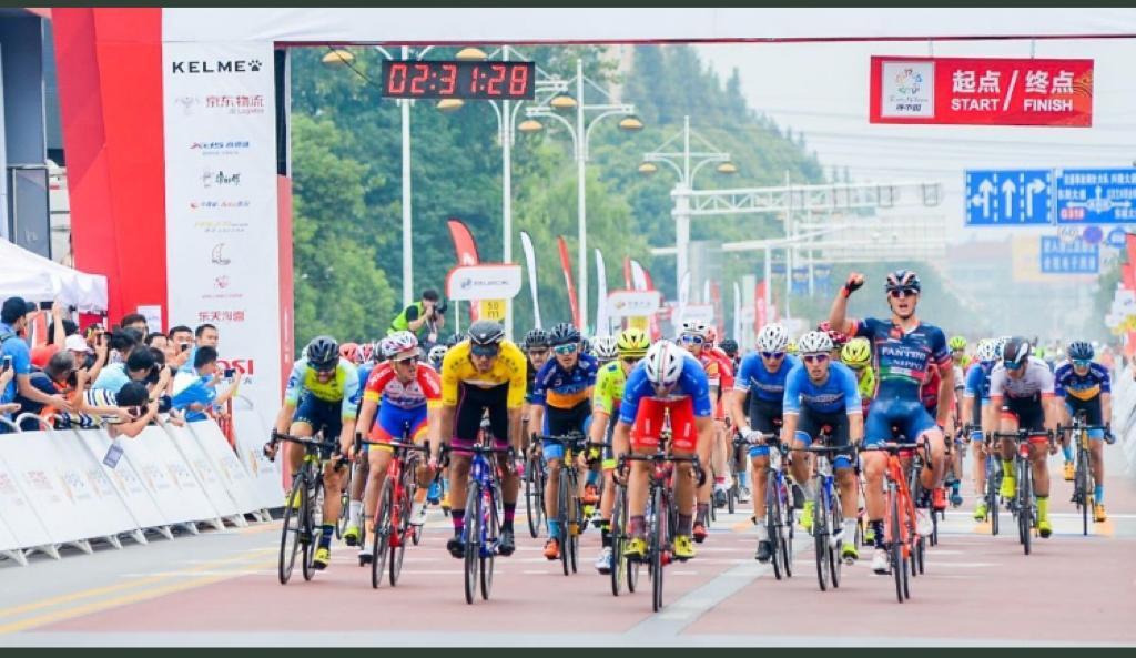 Damiano Cima vince la sesta tappa del Tour of Cina I