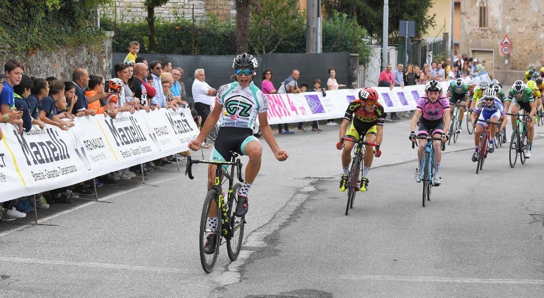 Riccardo Galante vince la gara Esordienti 2° anno di Calvagese della Riviera