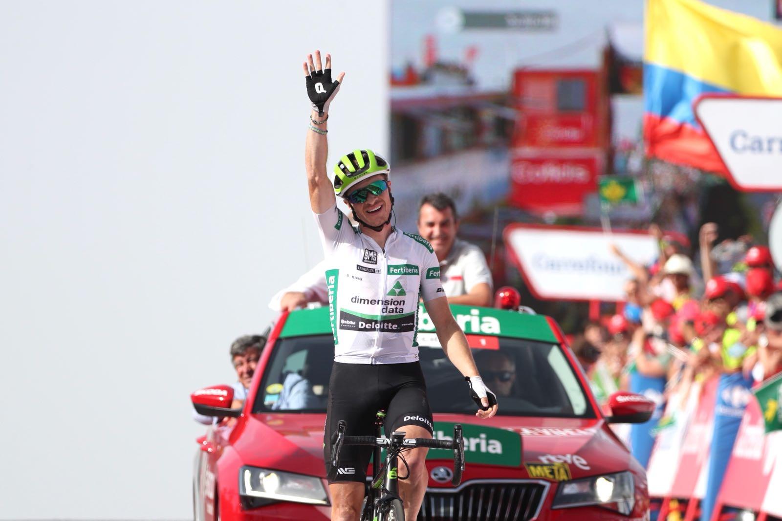 Benjamin King vince la nona tappa della Vuelta a Espana 2018