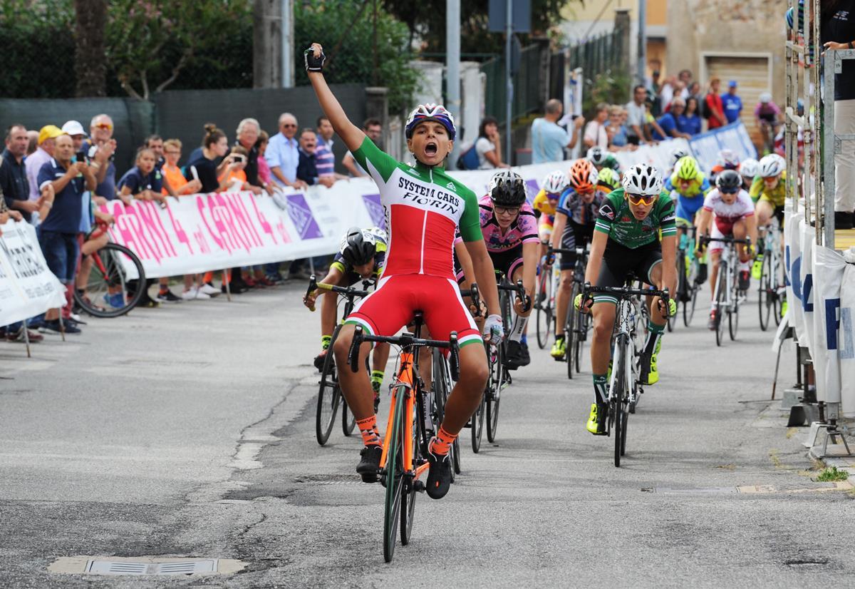 Matteo Fiorin vince a Calvagese