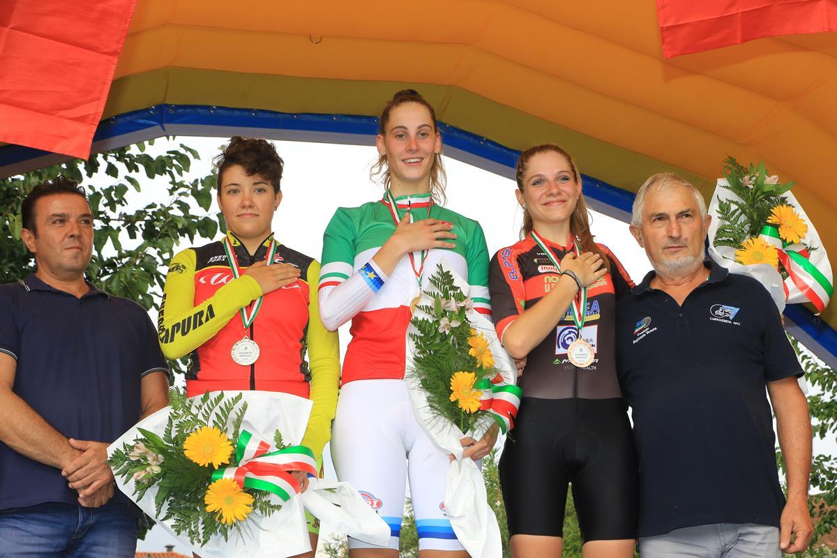 Campionato Italiano a cronometro Donne Junior a Villadose