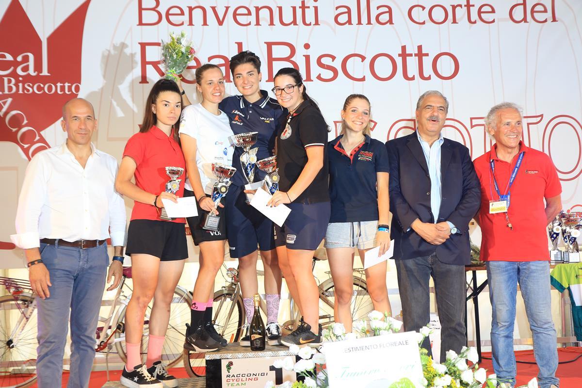 Premiazione Donne Junior a Racconigi