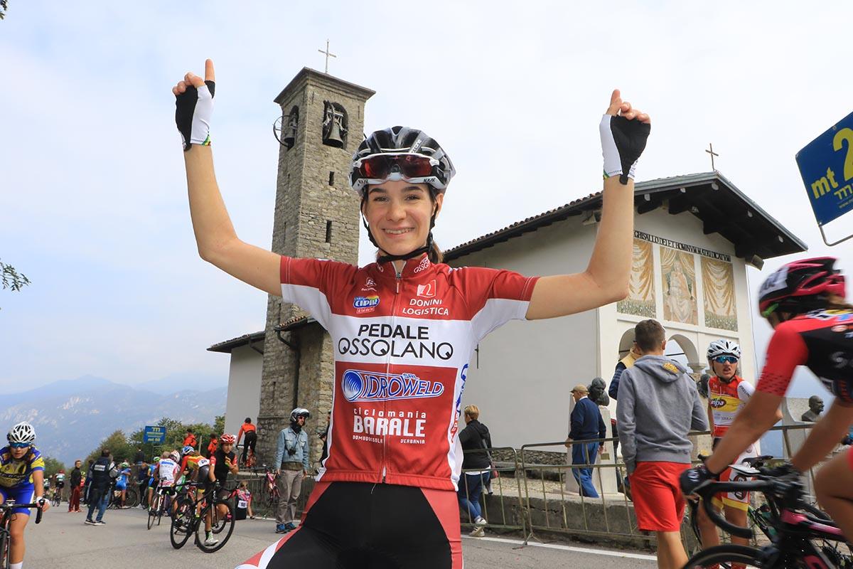 Francesca Barale vincitrice della Cesano Maderno - Ghisallo