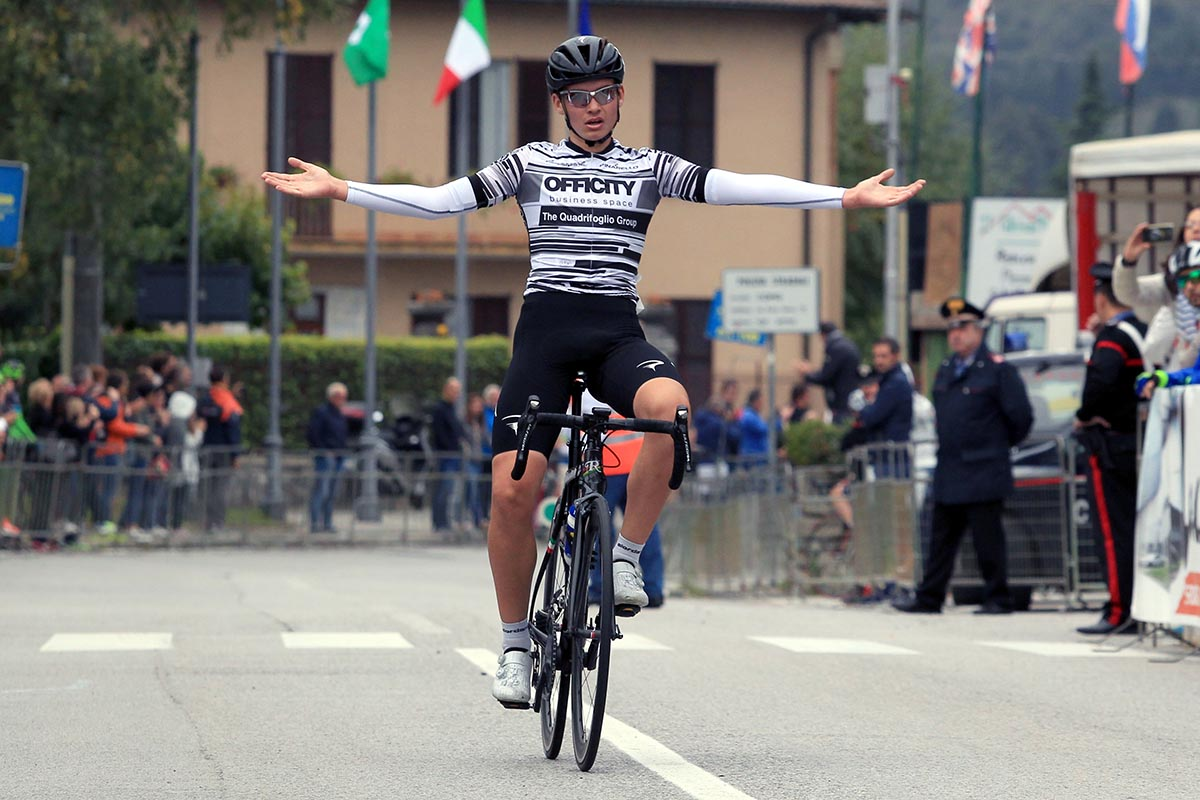 Gabriel Musizza vince la Lambrugo-Ghisallo 2018