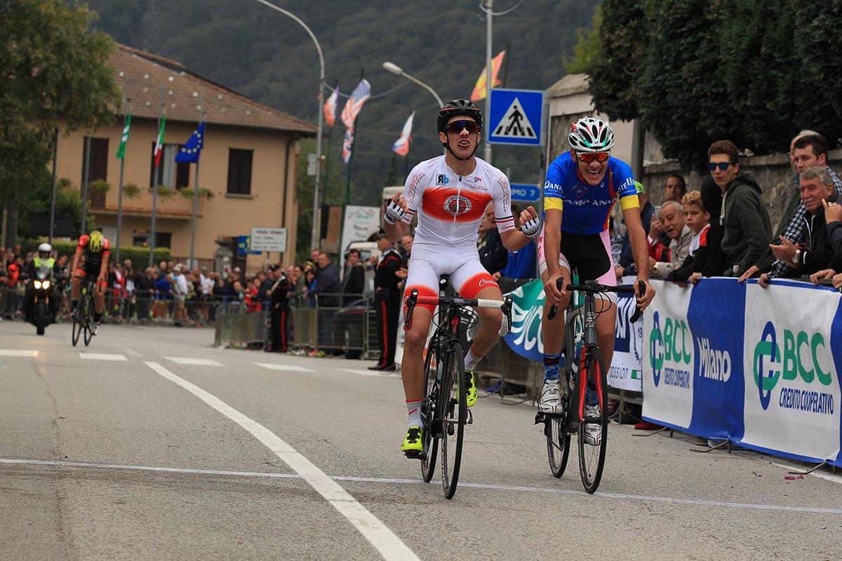 Gregorio Butteroni vince la Albese con Cassano - Ghisallo