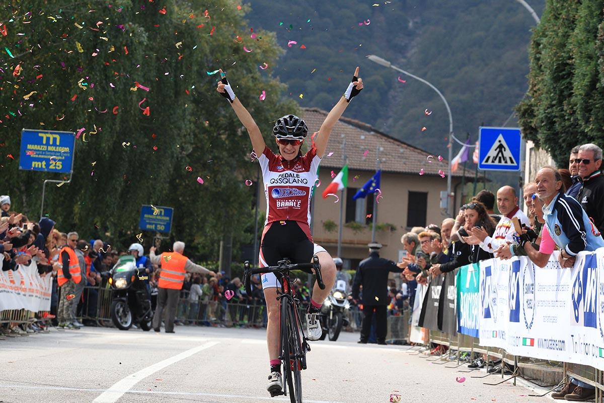 Francesca Barale vince la Cesano Maderno - Ghisallo