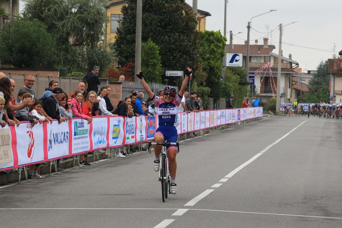Emma Redaelli vince la gara Donne Allieve di Bottanuco