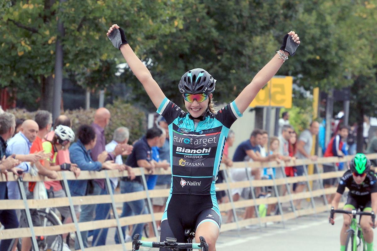 Martina Fidanza vince a Montecchio Precalcino