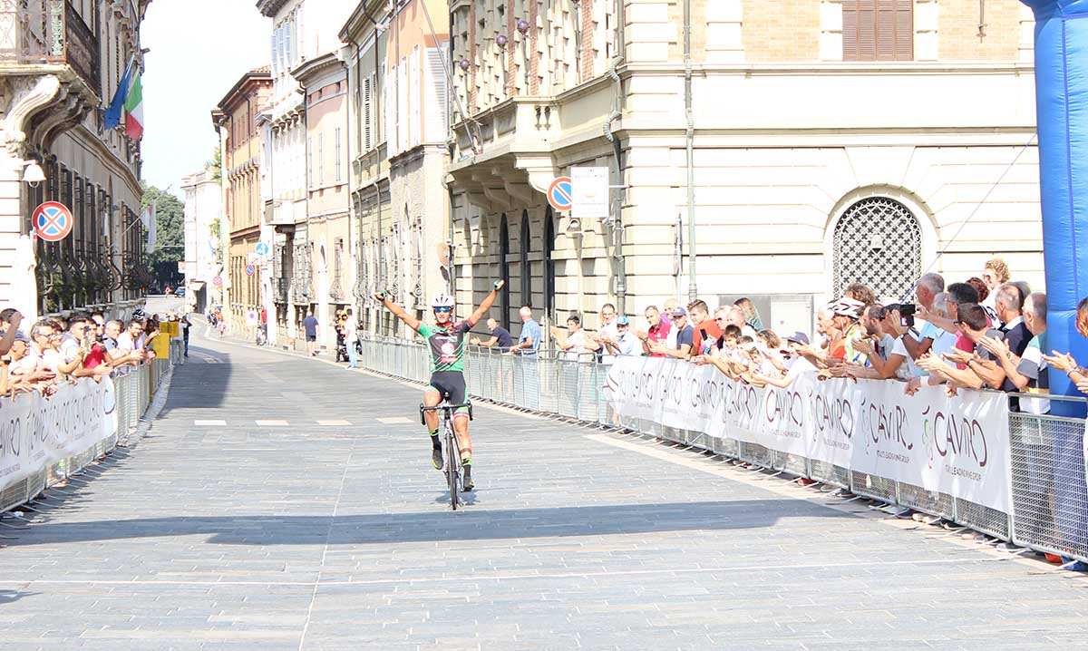 La vittoria di Federico Guzzo a Faenza