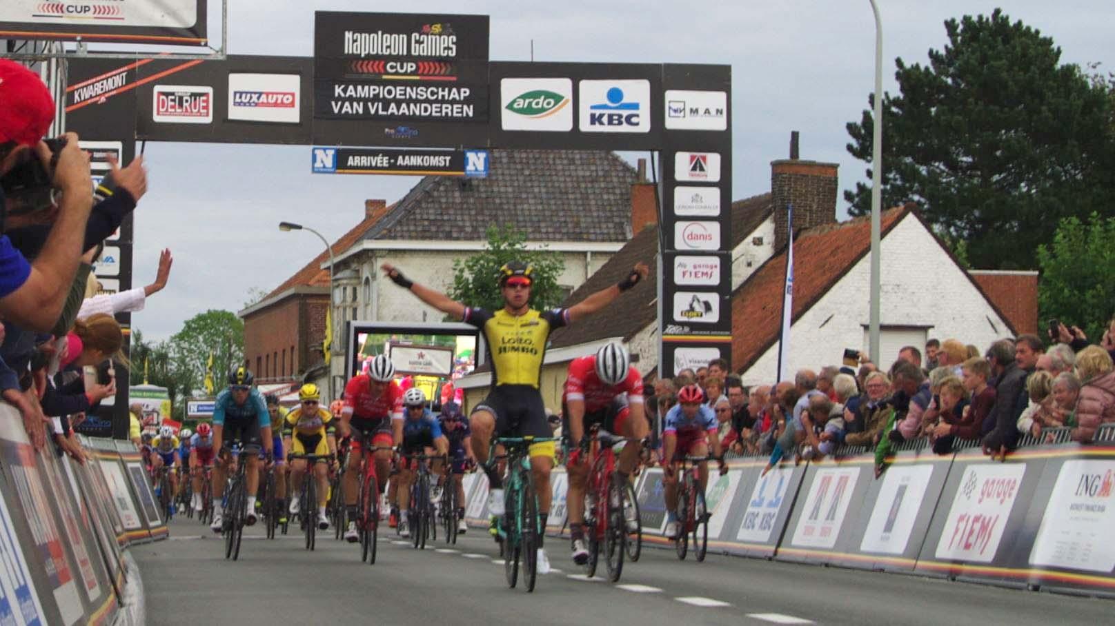 Dylan Groenewegen vince la Kampioenschap van Vlaanderen 2018