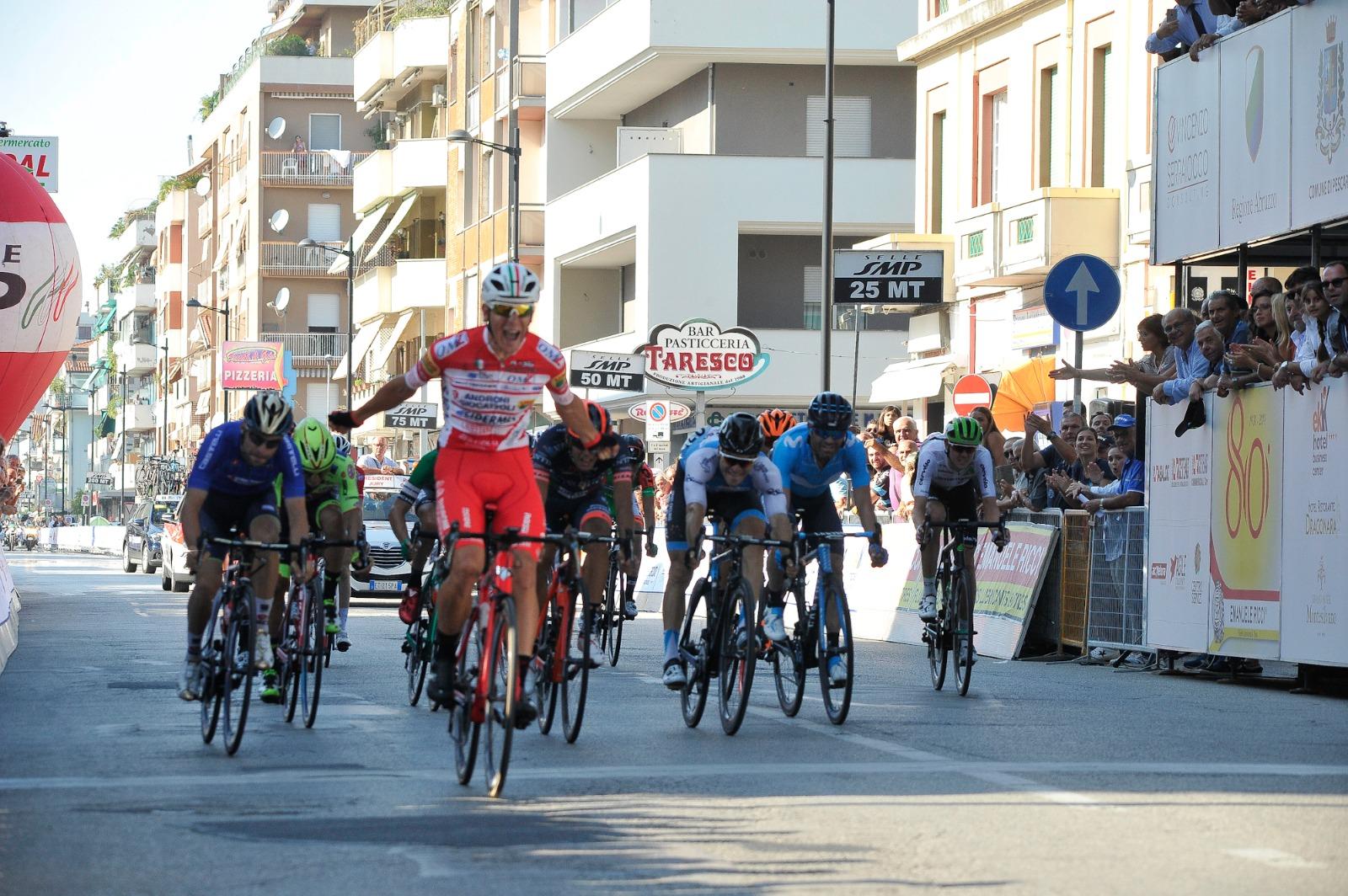 Davide Ballerini vince il Trofeo Matteotti 2018