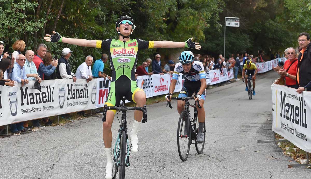 Davide Casarotto vince a Gavardo