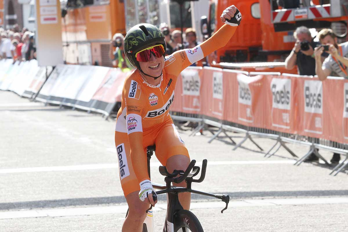 Annemiek van Vleuten vince l'ultima cronometro e la classifica finale del Boels Ladies Tour