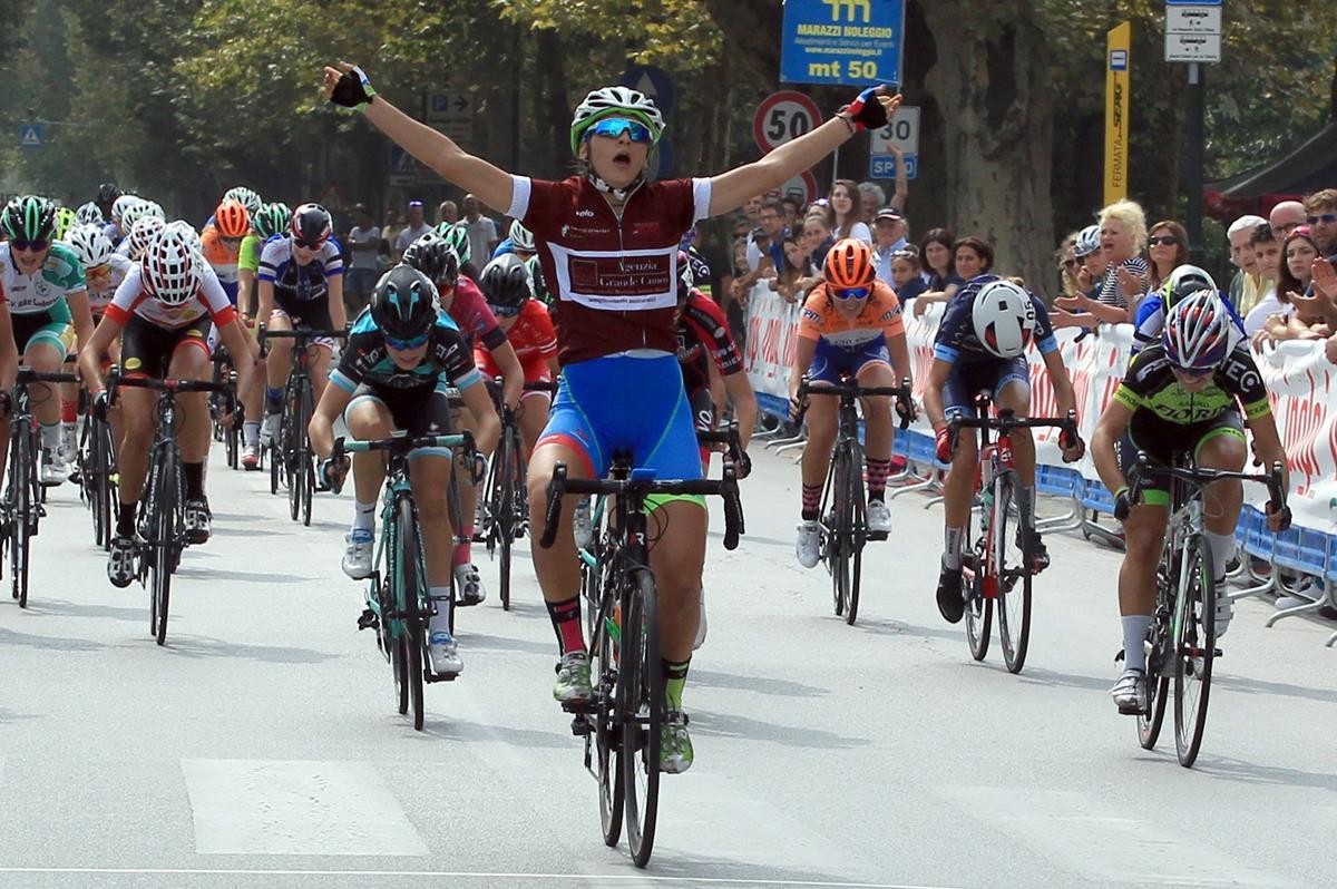 Eleonora Gasparrini vince la gara Donne Allieve di Racconigi