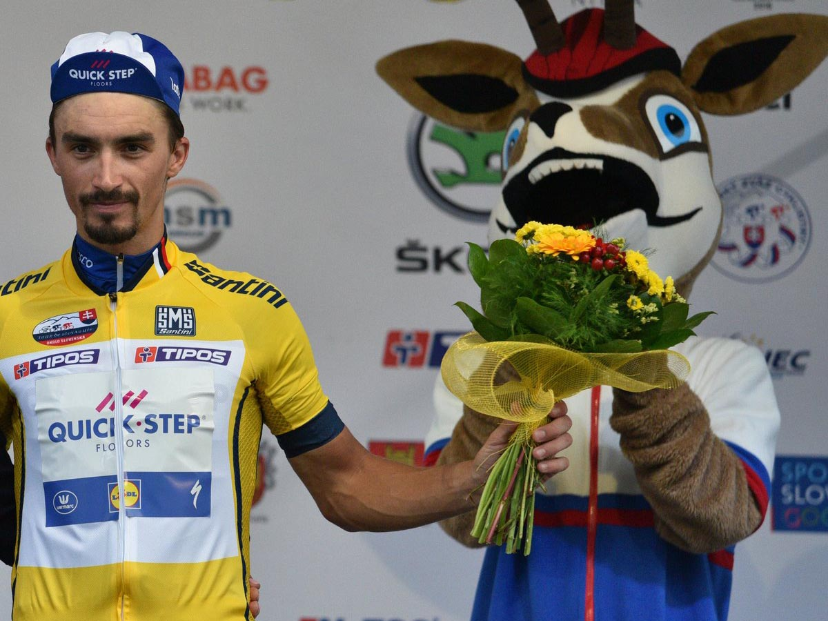 Julian Alaphilippe vince il Tour de Slovaquie 2018