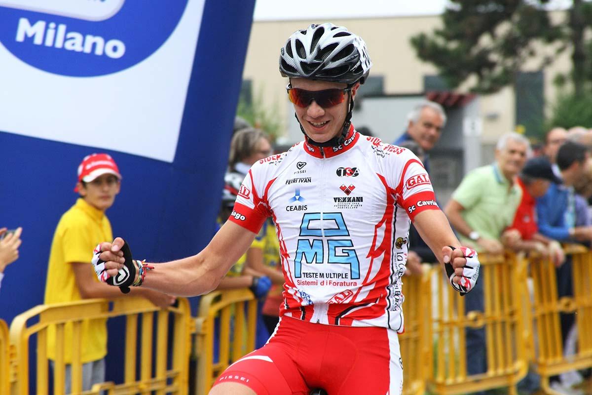 Giacomo Tagliavini vince a Carugate
