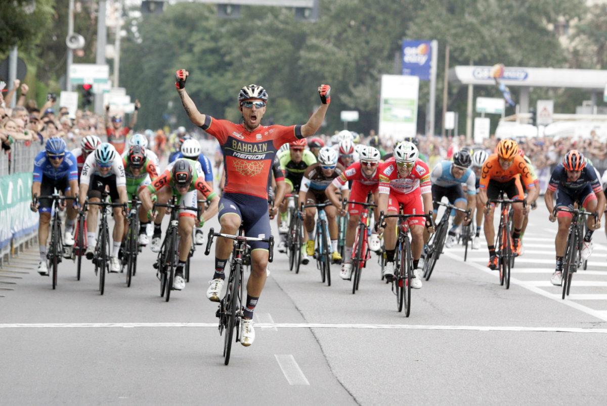 Sonny Colbrelli vince la 100/a Coppa Bernocchi