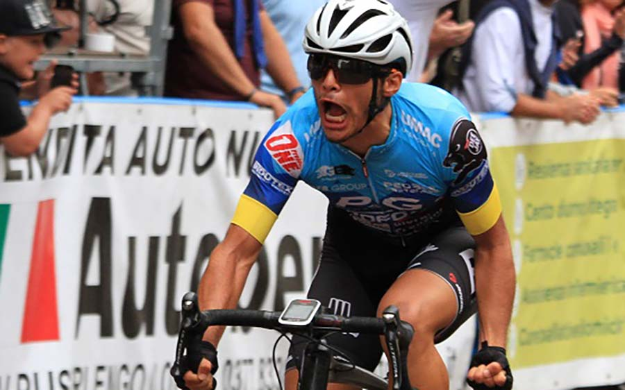 Giacomo Basso vince a Casalpusterlengo