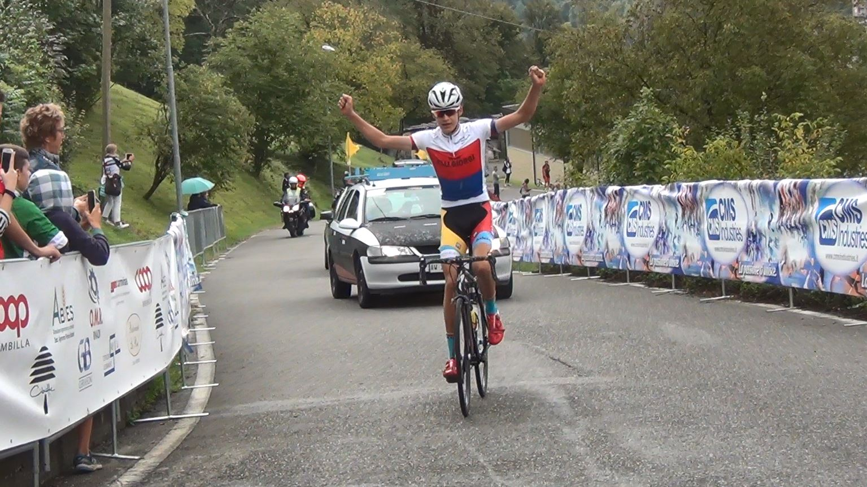 Mathias Vacek vince a Brembilla