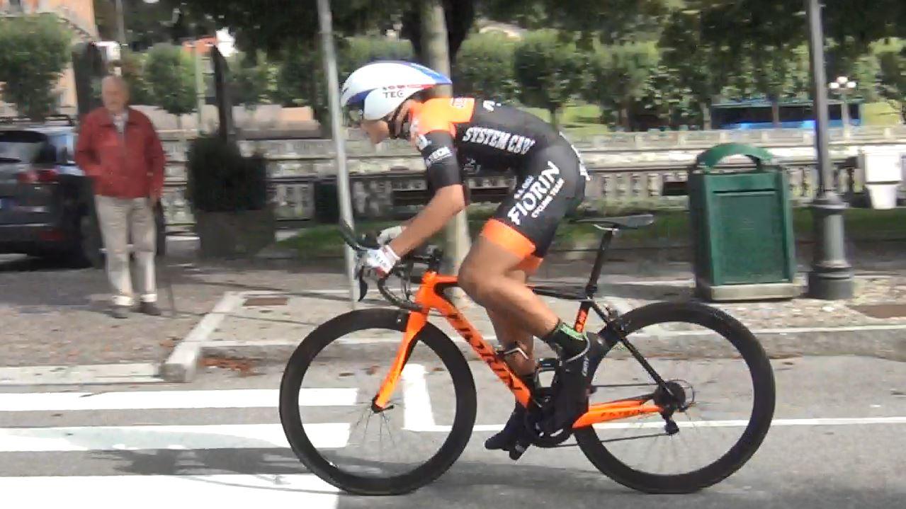 Matteo Fiorin vince la cronometro Esordienti di San Pellegrino Terme