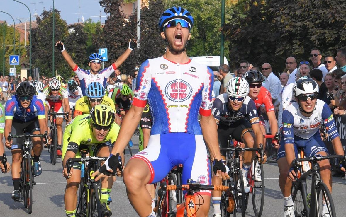 Davide Boscaro vince a Visano