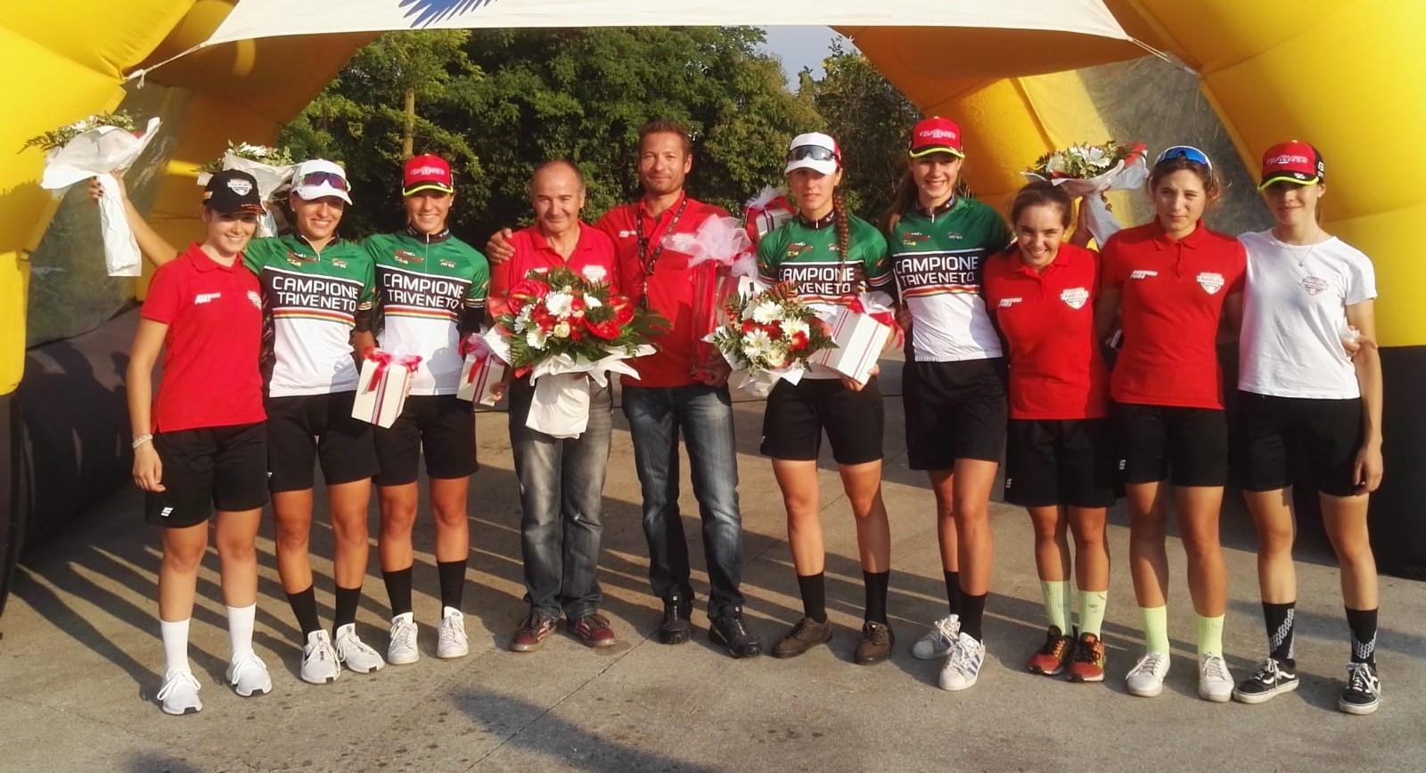 Il Team Wilier Breganze vince il Campionato Triveneto della cronosquadre