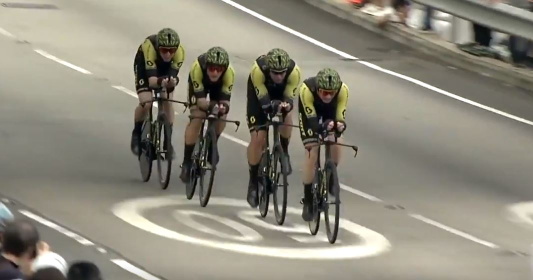 La Mitchelton-Scott vince la prova sprint della Hammer Series Hong Kong