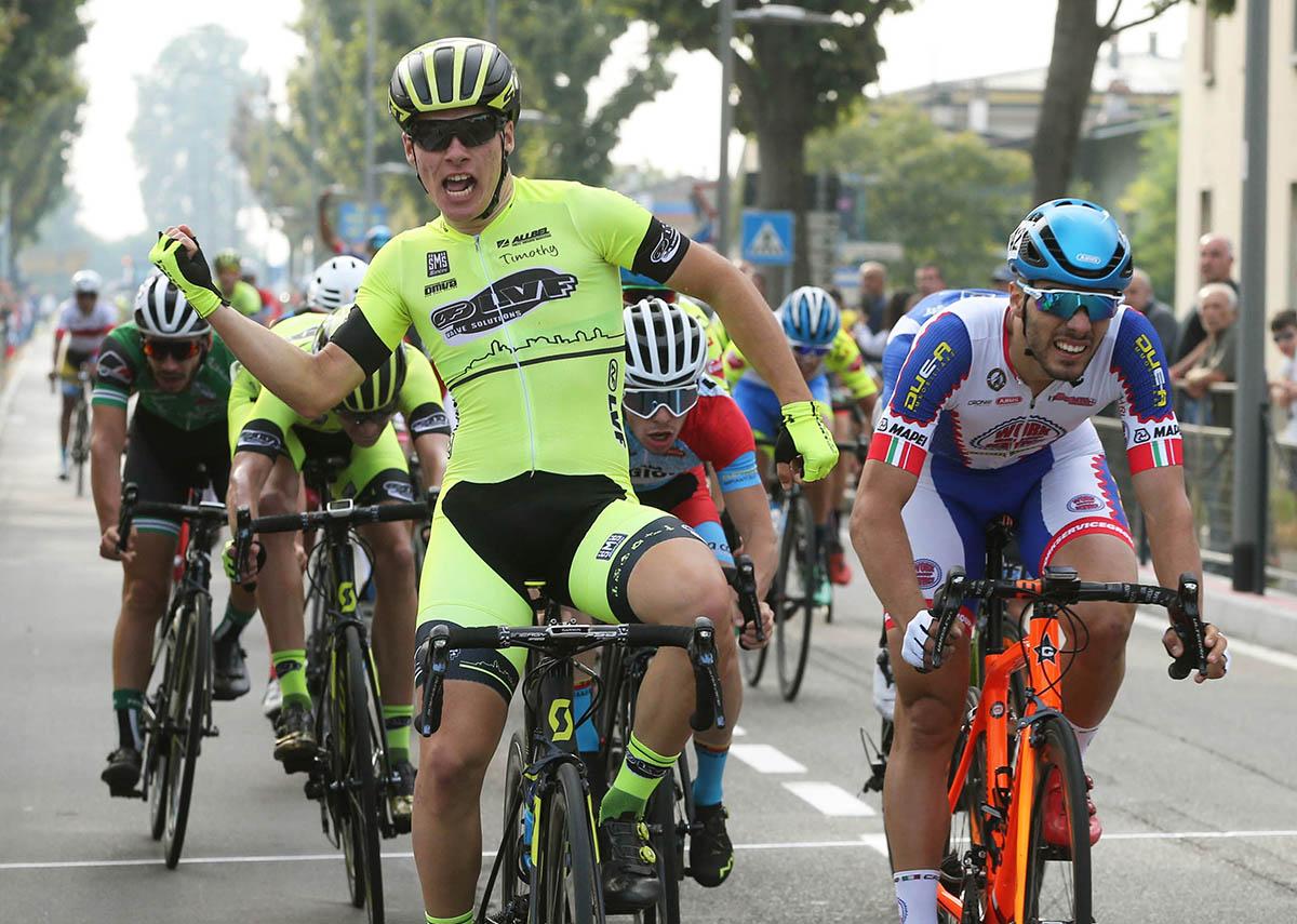 Tomas Trainini vince a Maleo