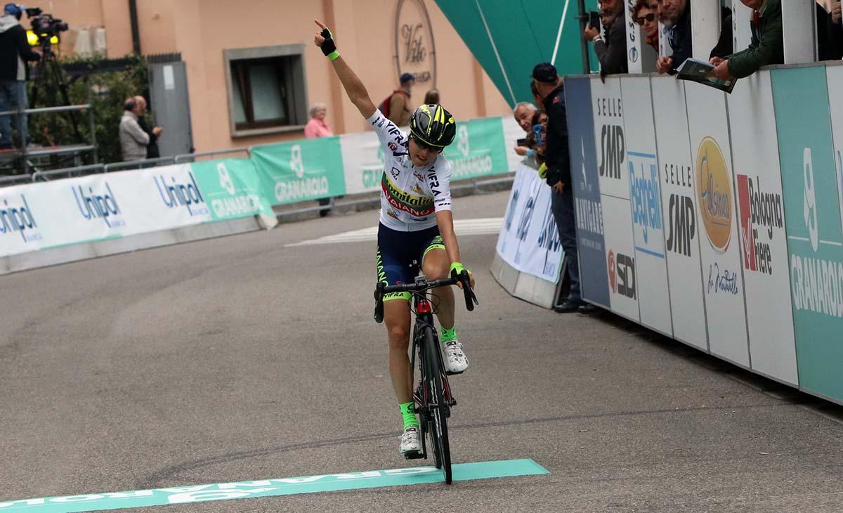 Rasa Leleivyte vince il Giro dell'Emilia femminile