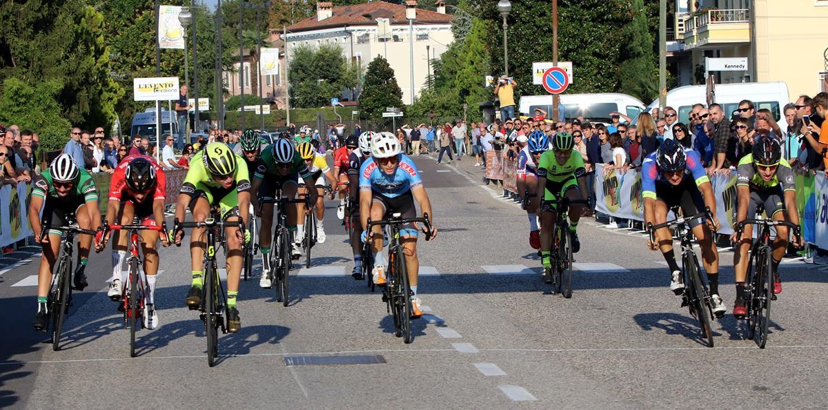 Andrea Berzi vince la volata a Vigasio