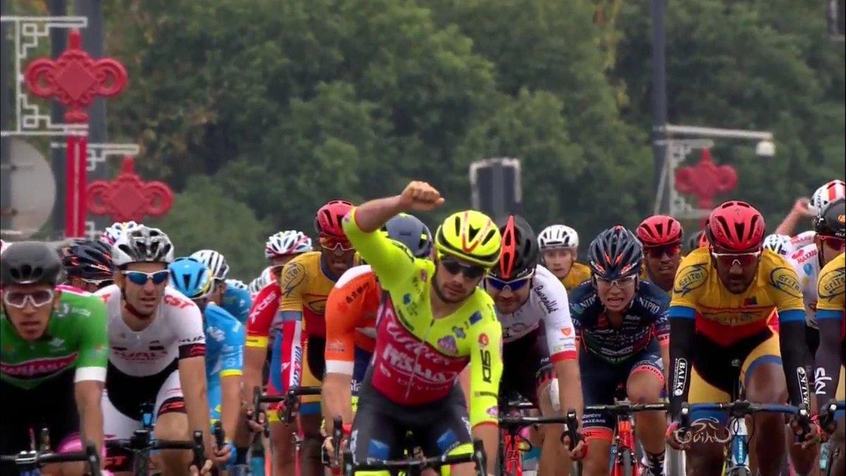 Jakub Mareczko vince la sesta tappa del Tour of Taihu Lake