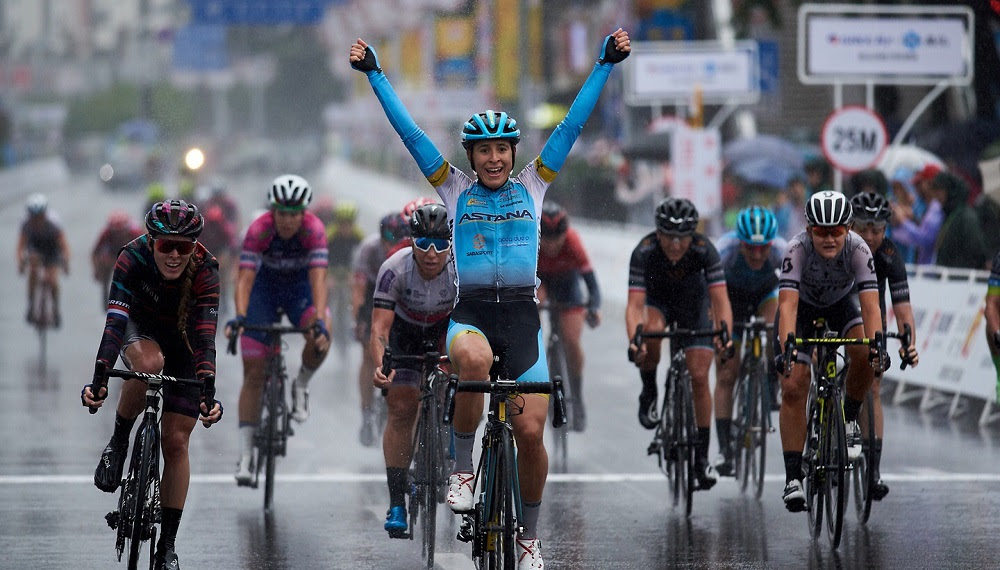 Arlenis Sierra vince allo sprint il Tour of Guangxi Women's WorldTour 2018
