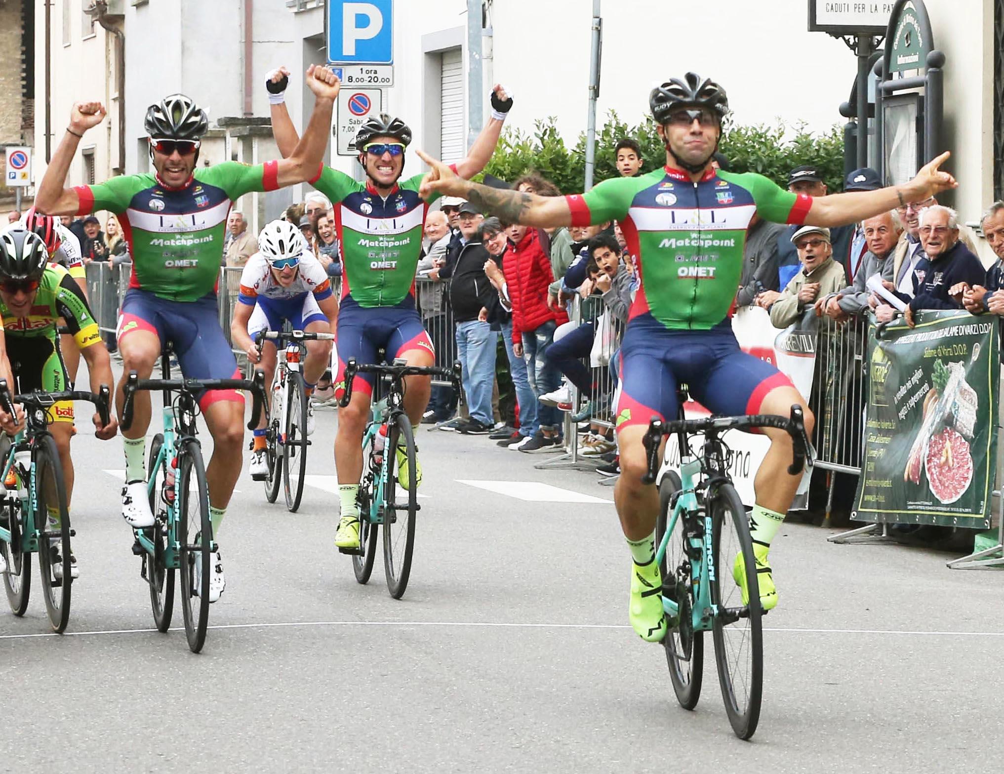 La vittoria di Gianmarco Begnoni a Molino dei Torti