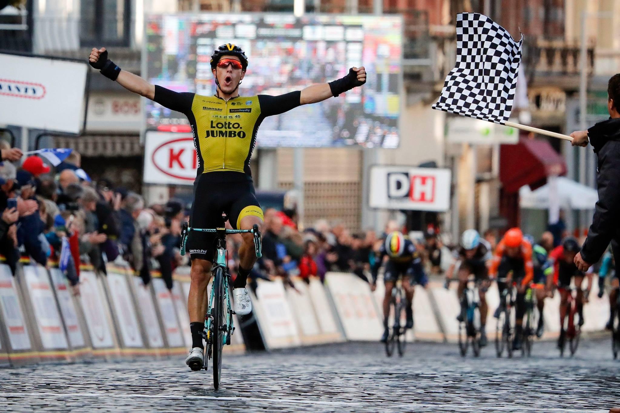 Danny van Poppel vince la Binche-Chimay-Binche 2018