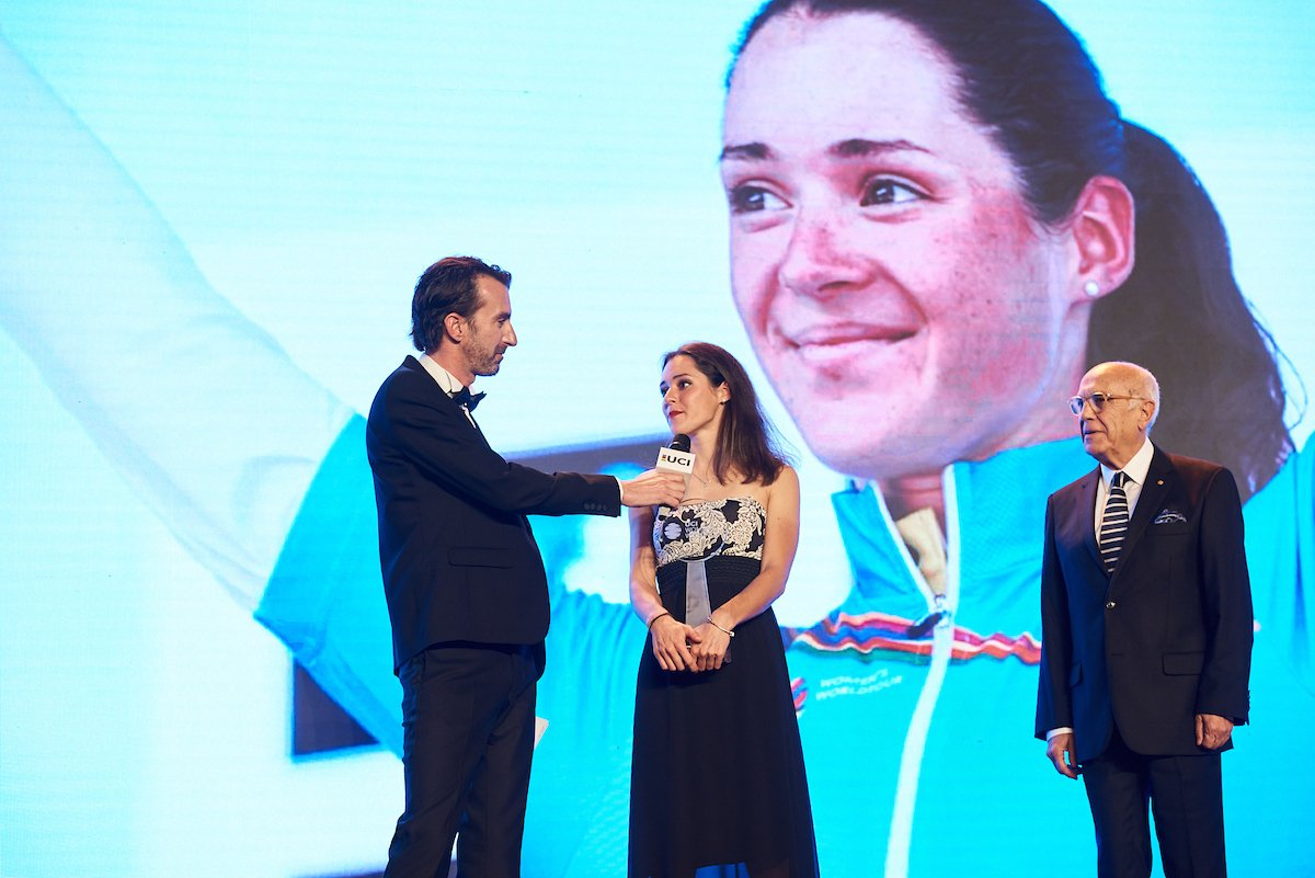 Sofia Bertizzolo premiata come miglior giovane dell'UCI Women's WorldTour