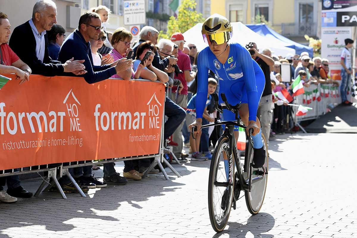 Elena Cecchini ha vinto il Campionato Italiano a cronometro Donne Elite a Cavour