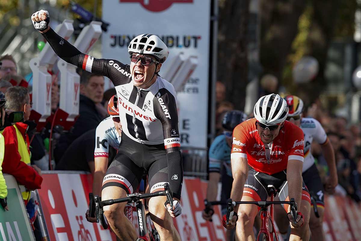 Max Walscheid vince lo Sparkassen Münsterland Giro 2018