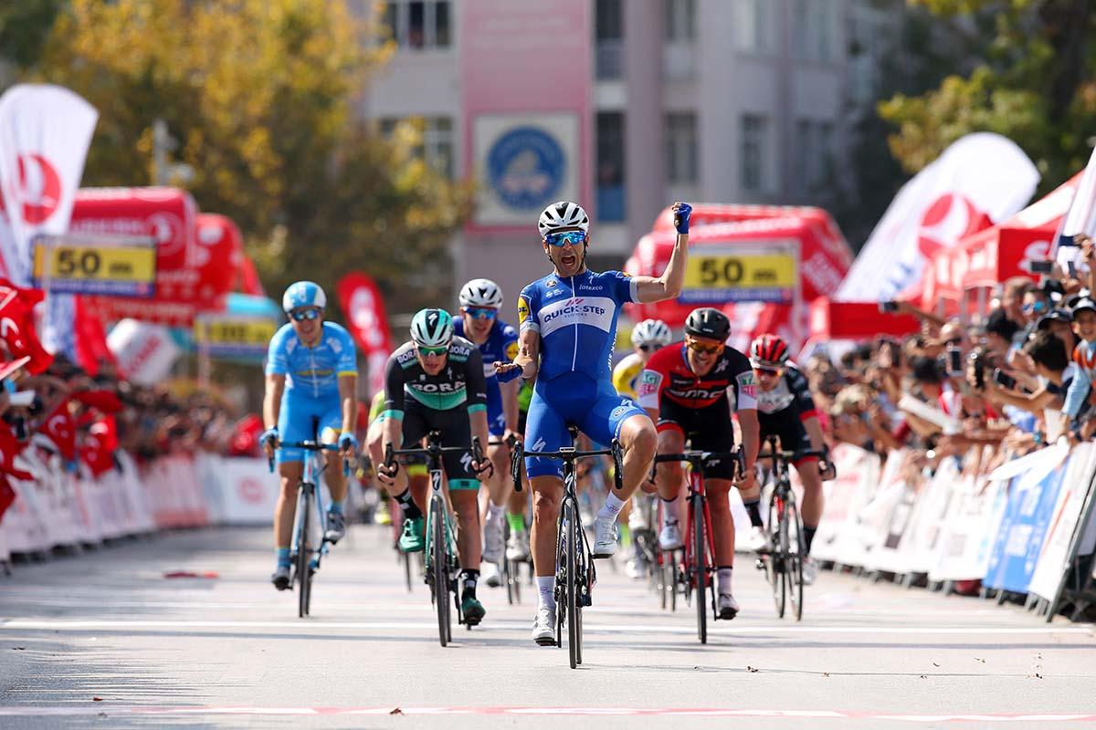 Maximiliano Richeze vince la prima tappa del Tour of Turkey (foto Alex Livesey/Getty Images)