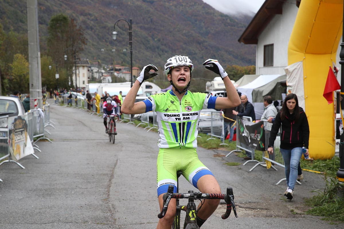 Alessandro Perracchione vince la gara Esordienti a Cantoira